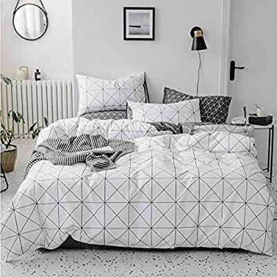 White Fluffy Duvet Cover Space Bed Set Blankets For Winter Duvet Bedding