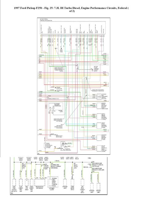 where can i find a complete wiring schematic for a 1997 ford 1975 ford f-250 wiring diagram wiring diagram for 1997 ford f250 #3
