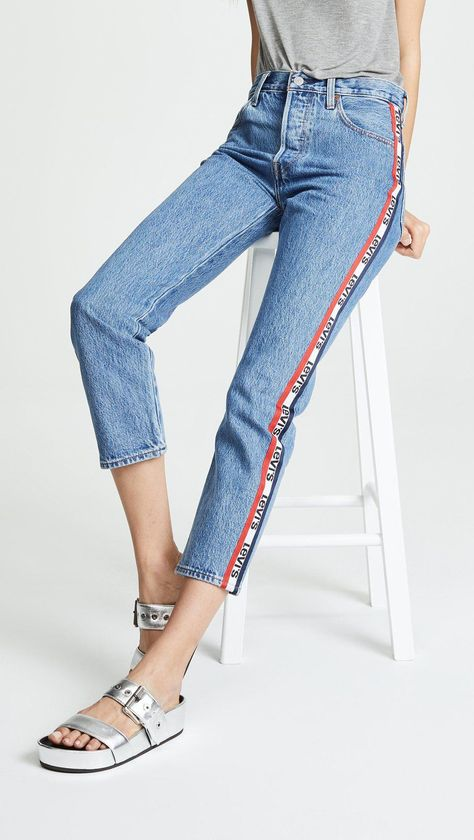superior materials quality the best Levi's 501 Crop Jeans | Moda in 2019 | Jeans, Cropped jeans ...