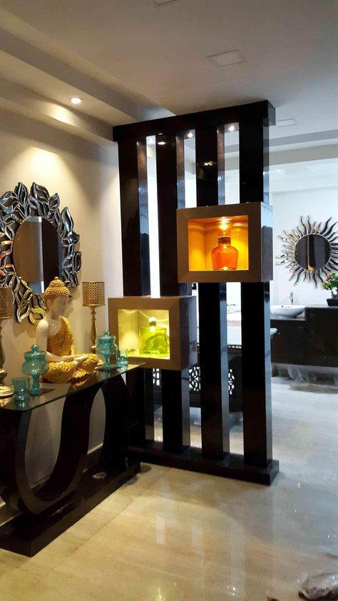 Pin By Renuka On F Living Room Partition Design Wall Partition Design Pooja Room Door Design