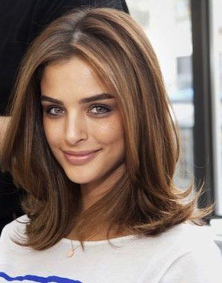 25 Stunning Hairstyles for Medium Hair | Medium haircuts, Amazing ...