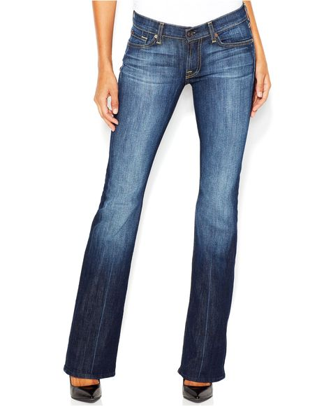 534722b689cd5 7 For All Mankind Classic Bootcut Jeans