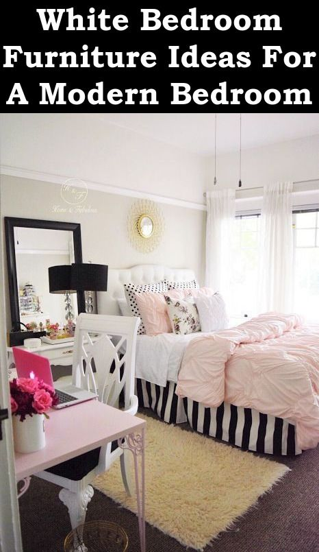 White Bedroom Furniture Ideas For A Modern Bedroom | White ...