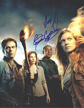 Revolution Cast by 4 Signed 11x14 Photo Certified Authentic JSA