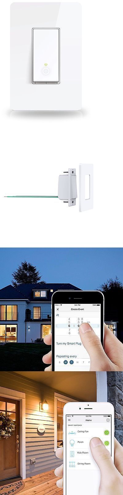 Home Automation Modules: Tp-Link Smart Wi-Fi Light Switch No Hub Required