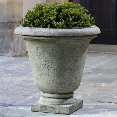 Campania International Hampton Cast Stone Urn Planter Urn Planters Planters Garden Urns