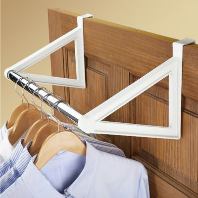Over The Door Closet Bar Hanging Clothes Rack Hanging Clothes Racks Closet Bar Hanging Clothes