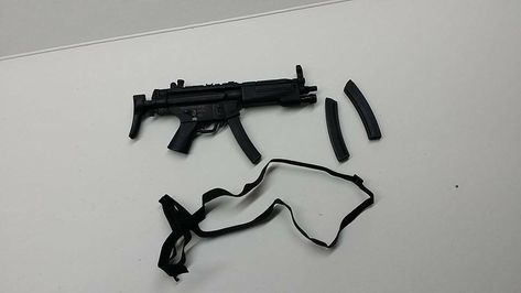 "1//6 Barrack Sergeant RMP Sterling MK7 A4 N A8 weapon gun  for 12/"" figure use"