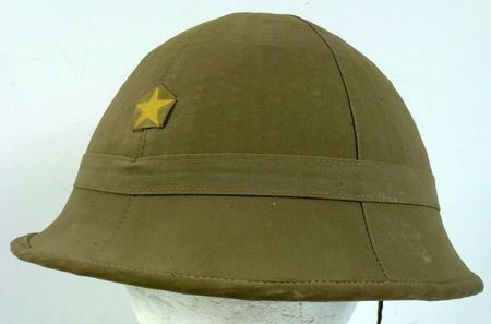 1944 Dated Japanese Army Sun Helmet Sold By Griffin Militaria For 545 Wwii Militaria Sunhelmet Military Headgear Military Helmet Hat