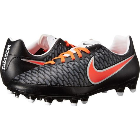 8d06bafd887 Nike Magista Onda FG (Black White Dark Grey Bright Crimson) Women s...  ( 65) ❤ liked on Polyvore featuring shoes