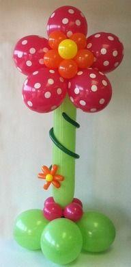 100 Awesome Balloon Flowers Ideas Balloon Flowers Balloon Art Balloons