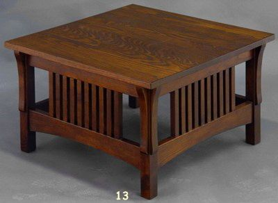 Corbel Square Coffee Table Coffee Table Mission Style Furniture Mission Furniture