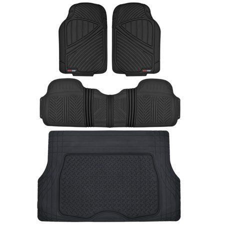 Motor Trend Flextough Floor Mats For Car Suv And Van With Cargo
