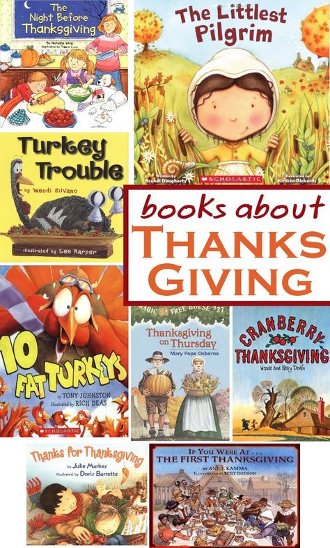 {Awesome List} 8 Great Books for kids about Thanksgiving
