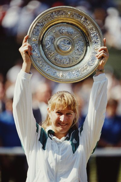 Steffi Graf Photostream Steffi Graf Tennis Trophy Tennis Players Female