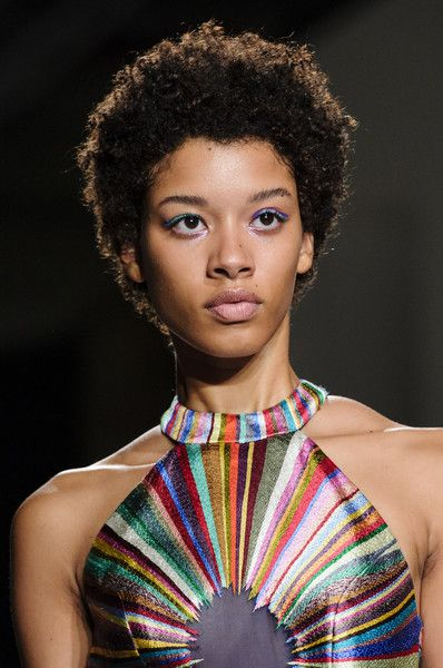 Rahul Mishra, Spring 2018 - Our Favorite Hair and Beauty Details From the Paris Runways - Photos