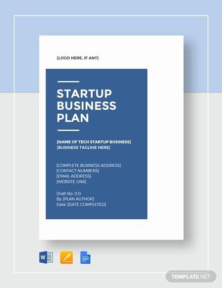 Startup Business Plan Template Pdf Lovely 12 Tech Startup Business Plan Exampl Business Plan Template Word Startup Business Plan Startup Business Plan Template