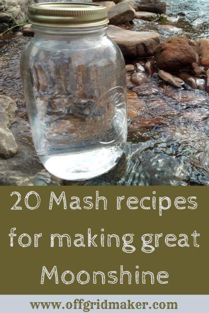 20 Moonshine Mash Recipes Moonshine Recipes Mash Recipe Moonshine Mash Recipe