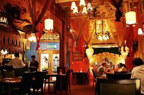 indian restaurant interior design - Hledat Googlem   India ...