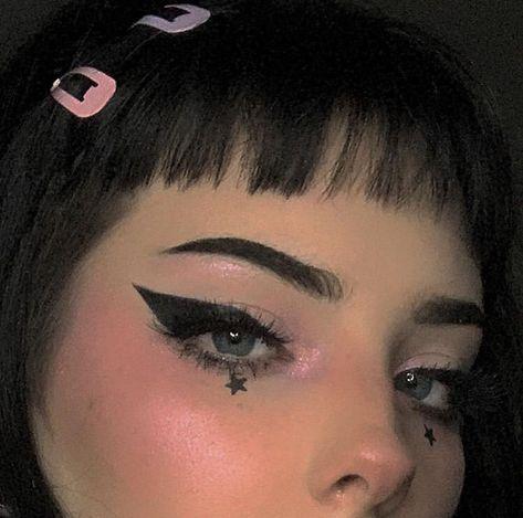 🖤🖤🖤 Excited to get in my ring light for better posts Author: clown_baby. - 🖤🖤🖤 Excited to get in my ring light for better posts Author: clown_baby - Makeup Trends, Makeup Inspo, Makeup Art, Makeup Inspiration, Makeup Style, Makeup Ideas, Dark Makeup, Skin Makeup, Natural Makeup