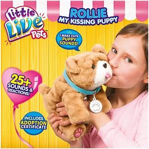 Character Options Little Live Pets Rollie My Kissing Puppy