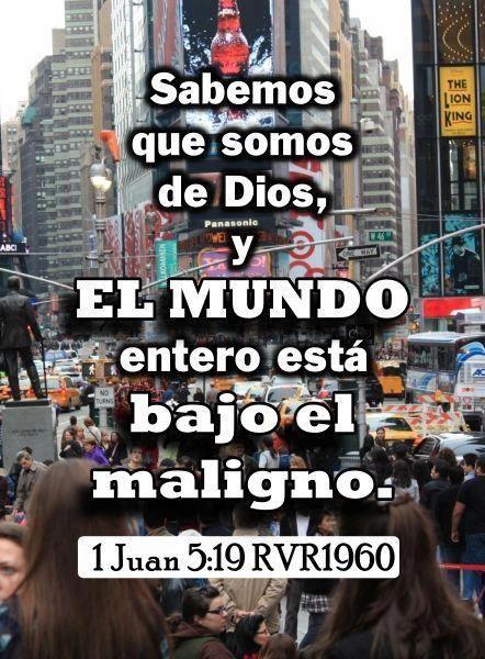 Spanish Christian Memes 666 Christian Memes 1 John 1 John 5 19