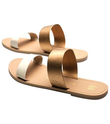 1e7260aa8fe Malvados Women s Azalea Double Strap Slide Sandal