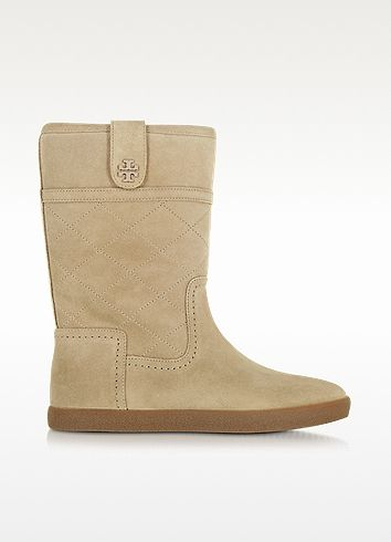 6d359d90c57 TORY BURCH Alana Light Camel Suede Boot.  toryburch  shoes  boots