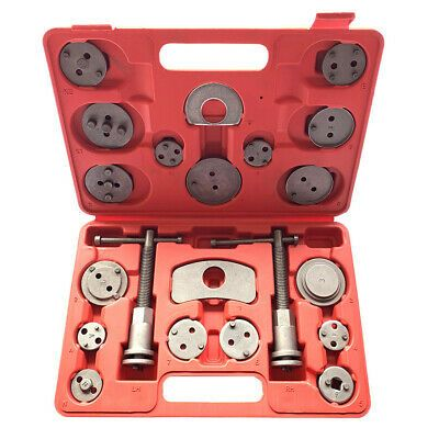 22Pcs Universal Disc Brake Caliper Wind Back Piston Pad Rewind Hand Tool Kit Set