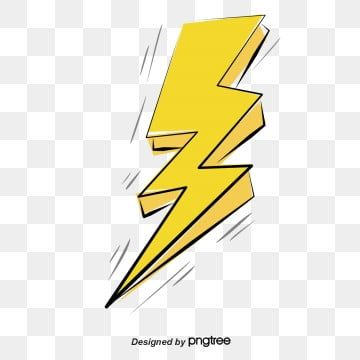 Thunder And Lightning Effect Vector Png Yellow Lightning Hand Painted Lightning Png Transparent Clipart Image And Psd File For Free Download Thunder And Lightning Thunder Lightning