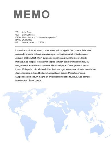 Flexible technology memo template Memo Template Free Pinterest - sample professional memo