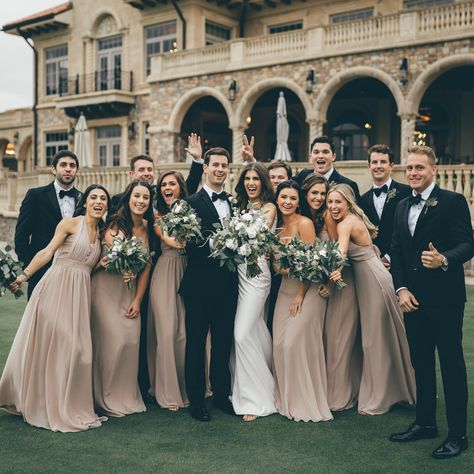 taupe brides maid dresses Grace Convertible Chiffon Bridesmaid Dress in Taupe Birdy Grey Champagne Bridesmaid Dresses, Grey Bridesmaids, Wedding Dresses For Bridesmaids, Long Black Bridesmaid Dresses, Bride And Bridesmaid Pictures, Different Bridesmaid Dresses, Bridesmade Dresses, Burgundy Bridesmaid, Affordable Bridesmaid Dresses