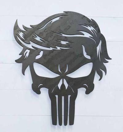 34++ Punisher skull clipart free information
