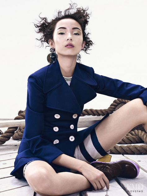 Naval Outlook in Vogue China with Xiao Wen Ju