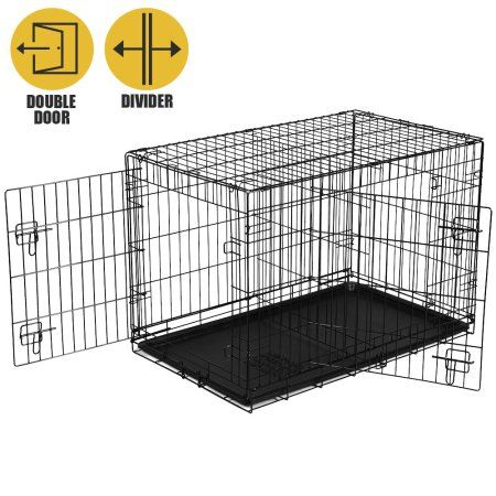 Pets Folding Dog Crate Dog Crates For Sale Large Dog Crate