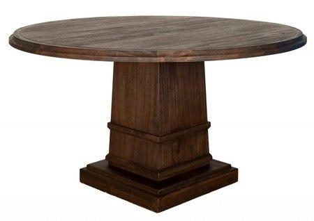 Hudson 60 Round Dining Table, Round Table Yakima Wa