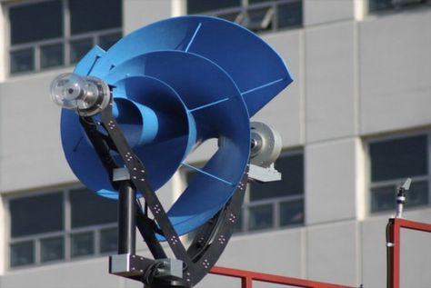 Archimedes wind turbine harnesses energy without the efficiency loss