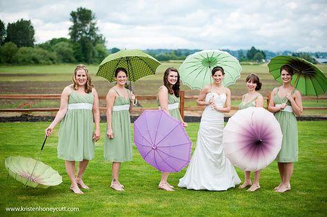 Parasol's for spring weddings...different colors#mintwedding #weddingcolors #lavenderwedding #mintandlavender #wedding #colorpallete #color #weddinginspirations #purplewedding #greenwedding #weddingideas #weddingdecor