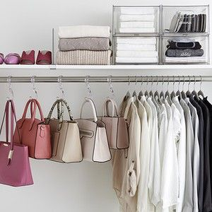 Schränke Closet Organizers, Closet Storage Ideas Kleidung Lagerung - How To / Di . Closets Closet Organizers, Closet Storage Ideas Clothing Storage - How To/diy Closet Door With Folding Hooks Inspirations Ideas, . Organizing Walk In Closet, Diy Closet Doors, Reach In Closet, Closet Storage, Closet Organization, Clothing Organization, Organization Ideas, No Closet Solutions, Storage Solutions