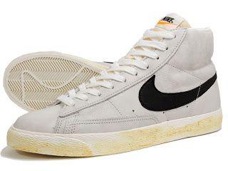 Nike blazer, Silver shoes, Nike