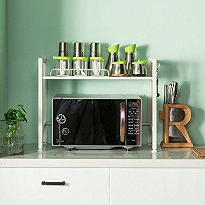 Amazon Com Singaye Oven Rack Double Layer Microwave Rack