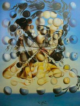 Salvador Dali Galatea of the Spheres art painting for sale; Shop your favorite Salvador Dali Galatea of the Spheres painting on canvas or frame at discount price. Salvador Dali Gemälde, Salvador Dali Paintings, Salvador Dali Quotes, Max Ernst, Magritte, Surreal Art, Love Art, Les Oeuvres, Art History