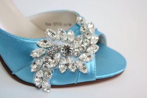 a25de1f8def Wedding Shoe - Crystal Wedding Shoe - Wedding Heels - Bridal Shoe - Custom Wedding  Shoe -Bespoke Wed