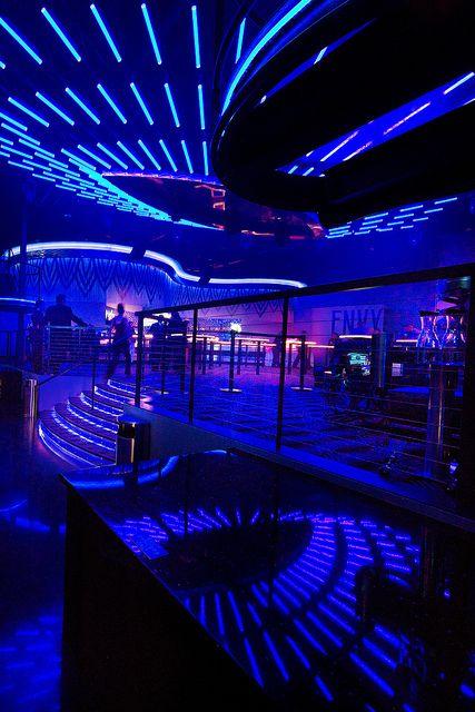 Interior Nightclub Design | LED Lighting Design | Casino Nightclub Décor |  Route 66 Casino |