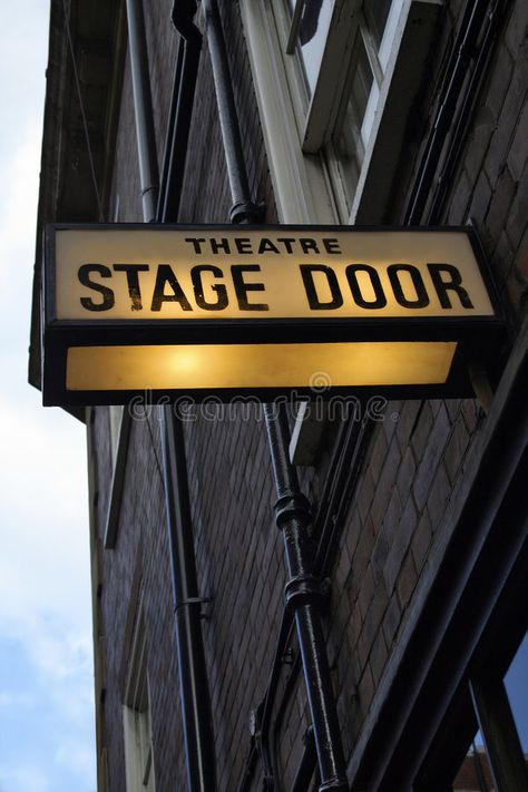Photo about Illuminated sign at theatre in London s West End. Image of stage, illuminated, actress - 3862660 London Theatre, Theatre Stage, Theatre Nerds, Broadway Sign, Broadway Theatre, Musicals Broadway, Musical Theatre Quotes, Theater Quotes, Illuminated Signs