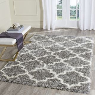 For Safavieh Montreal Grey Ivory Rug 8 X 10