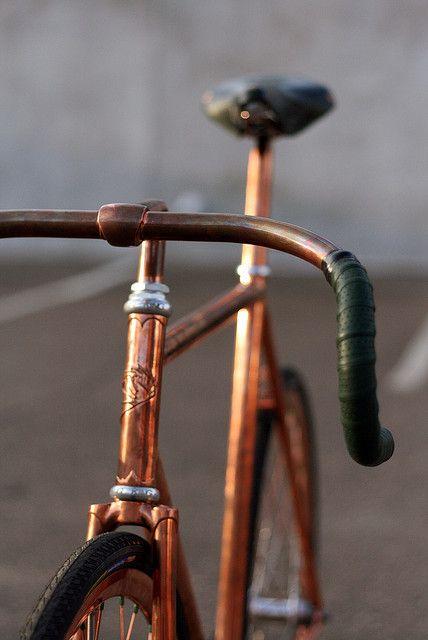 Les vélos vintage reviennent à la mode! #COPPER #BIKE