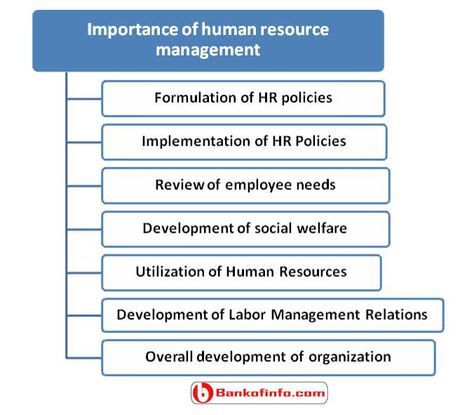 7 importance of human resource management Human Resource - evaluating employee performance