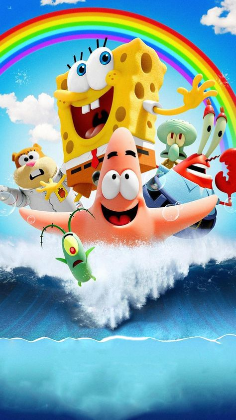 The SpongeBob Movie: Sponge Out of Water (2015) Phone Wallpaper | Moviemania