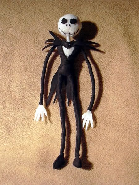 Jack Skellington felt pattern download - Xmas decorations for the tree this year??